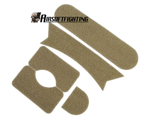 Airsoft Tactical Helmet Patch for MH Sytle Fast Ballistic Helmet DE A