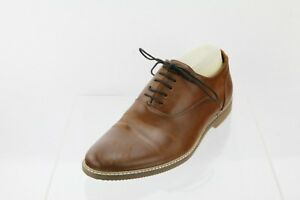 fd6c03078b0 Details about Men's Steve Madden Nunan Brown Leather Lace-up Loafer Shoes  Size 9 M