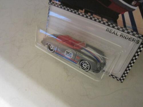 Hot Wheels CUSTOM PORSCHE 356 SPEEDSTER Martini Racing Real Riders LTD 1//20 Made
