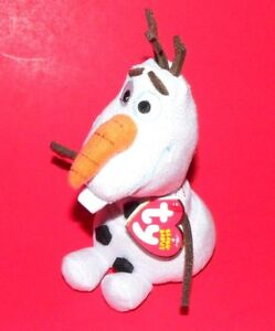 Image is loading OLAF-FROZEN-DISNEY-Beanie-Babies-TY-with-tag cafbbccaede