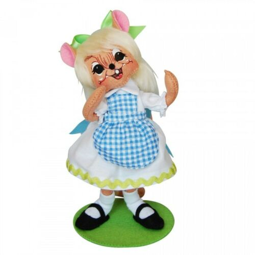 """THE MAD HATTER Alice in Wonderland 6/"""" Poseable Figures NEW Annalee 2015 Series"""