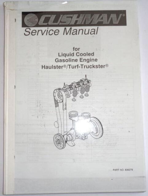 Service Manual For Cushman Turf