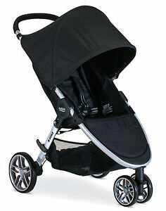 Britax-2017-B-Agile-3-Stroller-in-Black-Brand-New-Free-Shipping