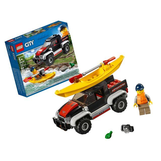 60240 LEGO CITY Kayak Adventure 84 Pieces Age 5 LEGO Bau