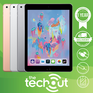 "Apple iPad 6th Gen 2018 9.7"" 32GB/128GB Grey/Silver/Gold WIFI Tablet"