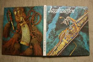 Sammlerbuch-Jagdwaffen-Feuerwaffen-Buechsen-Armbrust-Hirschfaenger-Prunkwaffen