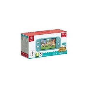 Nintendo Switch Lite Turquoise + Animal Crossing_ New ...