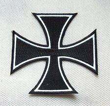 Aufnäher Eisernes Kreuz klein Patch Iron Cross Ritterkreuz EK Eisenkreuz