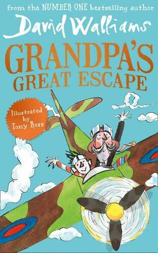 1 of 1 - Grandpa's Great Escape by Walliams, David 0008135193 The Cheap Fast Free Post