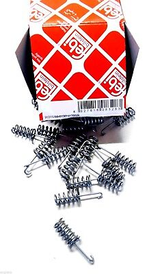 FEBI BILSTEIN 4x Feder Bremsbacken 08328//4x Stahl für MERCEDES W123 SL R107 W126