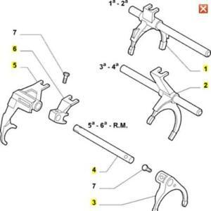 Brand-New-Genuine-ALFA-ROMEO-147-GTA-Boite-De-Vitesses-Fourche-Kit