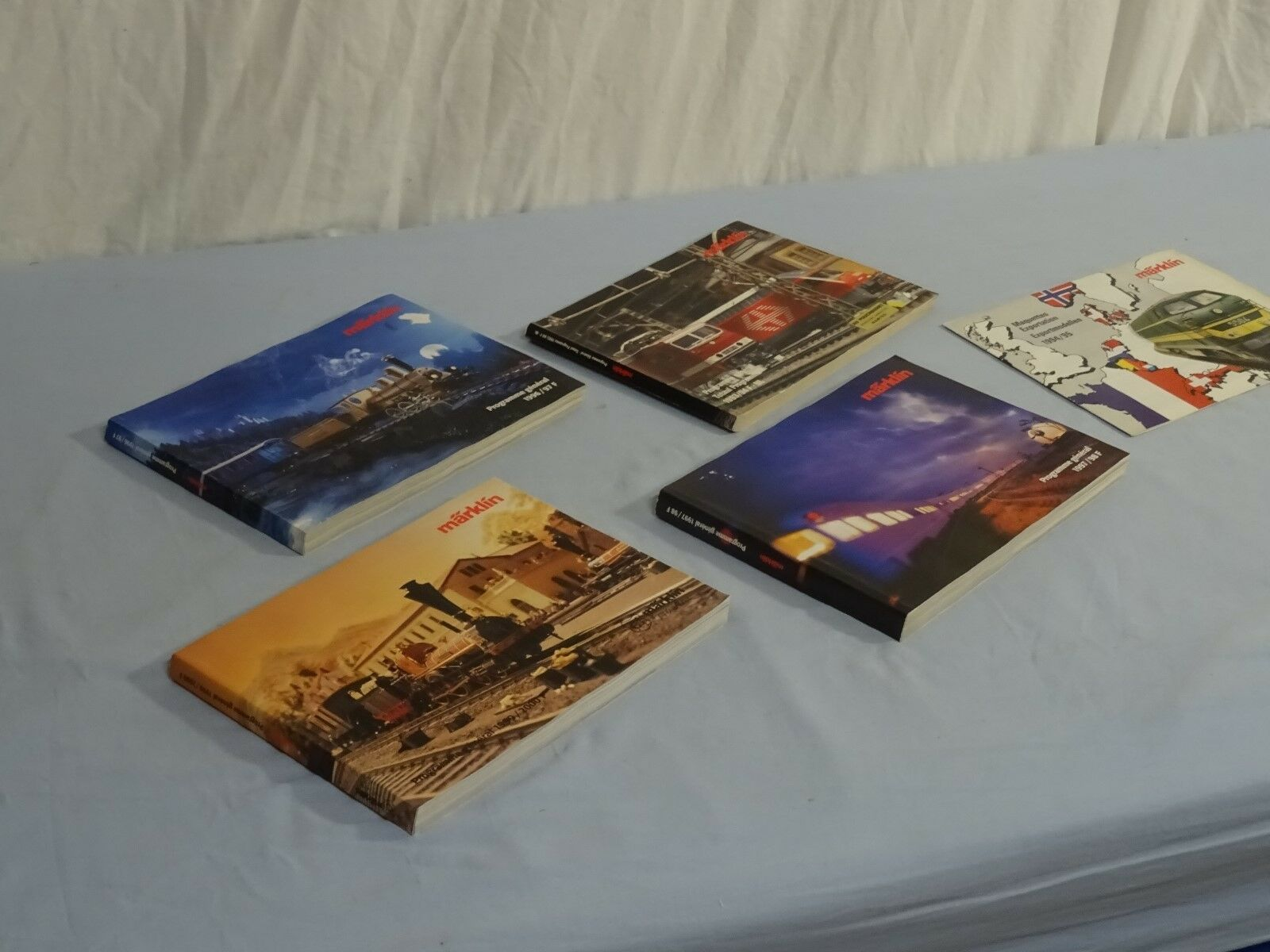 Lot de catalogues catalogues catalogues Marklin Programme général 372dbf