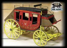 MODEL TRAILWAYS  Concord Stagecoach kit NEW SHIPWAYS