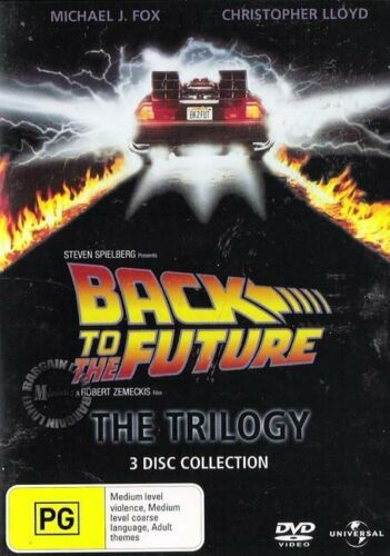 1 of 1 - Back To The Future - The Trilogy 1 2 3 : NEW DVD