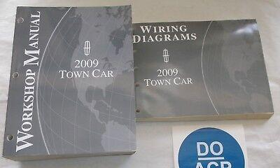 2009 FORD LINCOLN TOWN CAR SERVICE SHOP REPAIR MANUAL ...