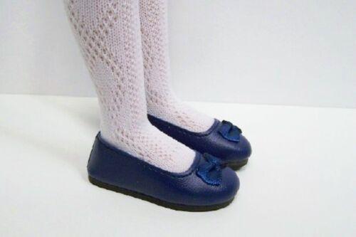 "NAVY BLUE Flats Doll Shoes Fits 14/"" Kish Chrysalis Lark Piper Song Raven Debs"