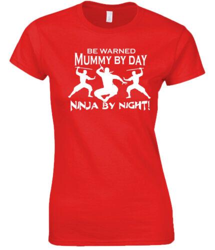 Mummy T-Shirt Ninja T-Shirt Great Gift Funny Mothers Day Gift Mum Ninja Mum Mums