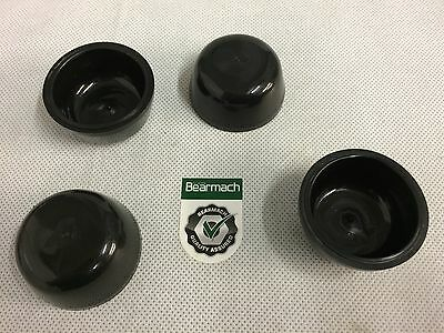 GENUINE LR Land Rover Defender 93/> Rubber Hub Cap Dust Covers x2 FTC5414