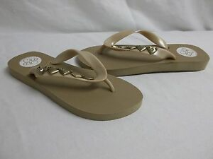 c3c58eac41a Details about BCBGeneration BCBG Size 6 M Gavin Taupe Flip Flops Sandals  New Womens Shoes NWOB
