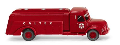 "Wiking 088352 Magirus S 7500 Tankwagen /""CALTEX/"" Eurotrain Sondermodell NEU"