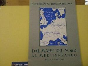 Mare Mediterraneo Cartina.Art 1 683 Cartina Del Mare Del Nord Al Mediterraneo Anno 1939 Ebay