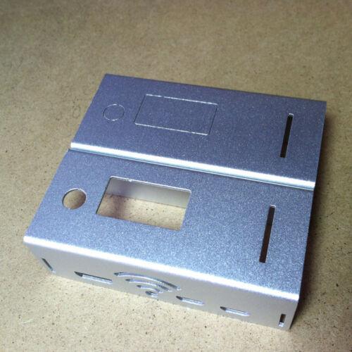 Silver Aluminum Enclosure shell Case sover For MMDVM Hotspot Raspberry pi zero w