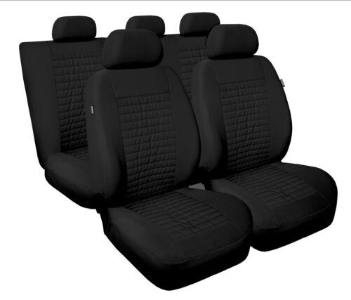 Sitzbezüge Sitzbezug Schonbezüge für Hyundai ix20 Schwarz Modern MC-1 Set