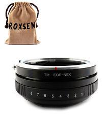 Tilt Canon EOS EF Lens to SONY E mount adapter NEX-7 5T 6 A6000 A7 A7R A5100