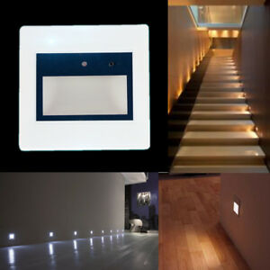 Genial Image Is Loading Motion Sensor LED Wall Recessed Stairs Light Hall