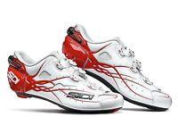 Sidi Shot Cycling Shoes, White Red, Eu40-45