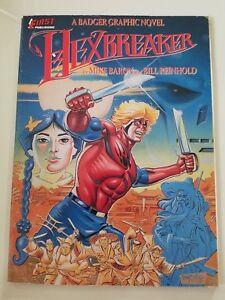 HEXBREAKER-A-BADGER-GRAPHIC-NOVEL-1988-FIRST-COMICS-MIKE-BARON-amp-BILL-REINHOLD