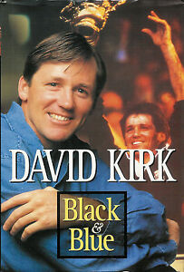 Black and Blue - David Kirk rugby autobiography bookcover