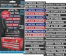 Adhesive Toolbox Labels Blue Edition Fits All Craftsman Tool Chest Amp Drawers