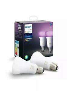 PHILIPS-HUE-WHITE-COLORS-E27-Ampoules-connectees-2X-Ampoules