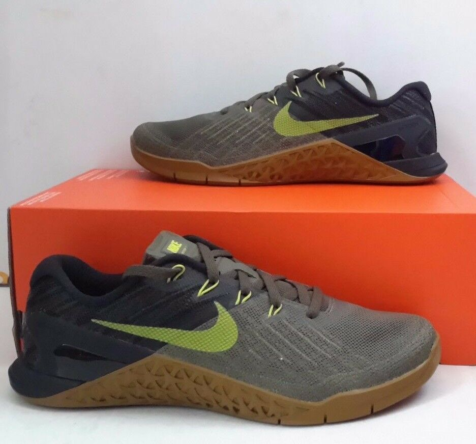 Nike Metcon 3 852928-201 Olive Cactus Black Men's Training shoes Sz 7 NEW