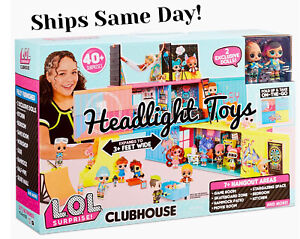 In-Hand-LOL-Surprise-Remix-Clubhouse-Playset-Fold-Up-House-2-Exclusive-Tots-Doll