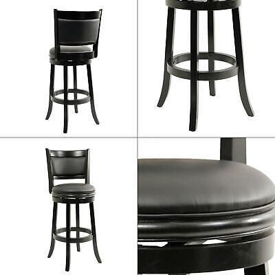 Prime Augusta 29 In Black Swivel Cushioned Bar Stool Boraam Kitchen High Density 852896458294 Ebay Gmtry Best Dining Table And Chair Ideas Images Gmtryco
