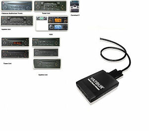 USB SD mp3 aux en adaptador cd del cambiador adecuado para Becker Traffic Pro