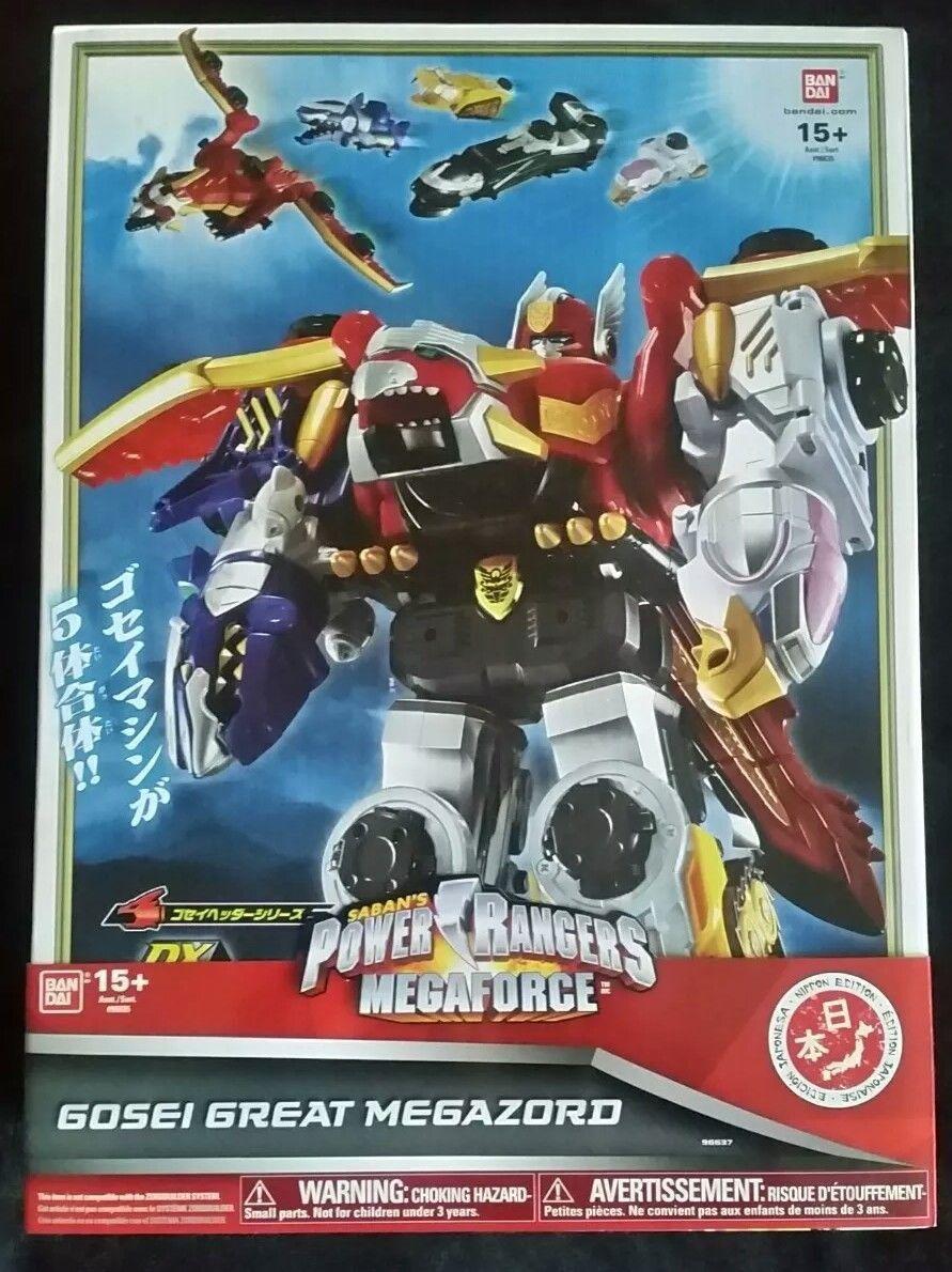 Power Rangers Megaforce Goseiger DX Gosei Great Megazord Japan
