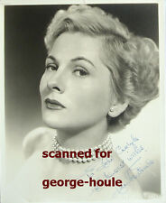 JOAN FONTAINE - 8X10 - VTG - INSCRIBED - JOHN CARLYLE - JUDY GARLAND - AA