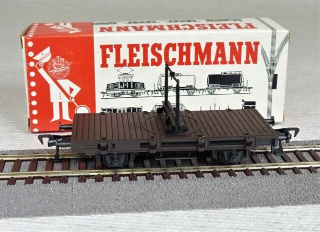Fleischmann HO 5015 Drehschemelwagen DB neu !!!
