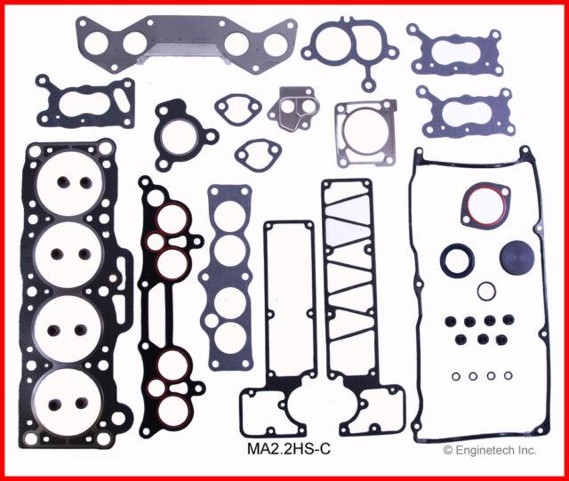 Engine Cylinder Head Gasket Set-GAS, SOHC, CARB, Nikki