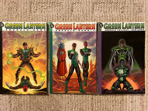 Green-Lantern-Emerald-Dawn-I-amp-II-amp-Emerald-Twilight-New-Dawn-DC-TPB-Lot-Set