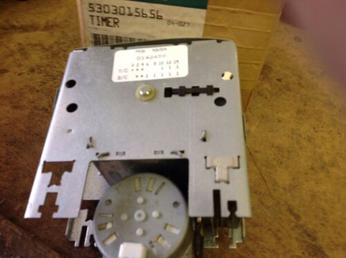 Timer 5303015656  Bx247 /& 255 Details about  /New Wci And Frigidaire Washer