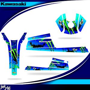 kawasaki 550 sx jet ski decal graphics sticker jetski 550sx wrap full kit