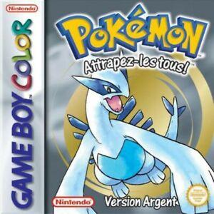 Nintendo-GameBoy-Color-Pokemon-silberme-Edition-version-argent-FRA-Module