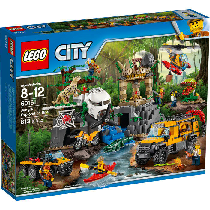 60161 LEGO CITY Site Mod Mod Mod D'EXPLORATION NELLA JUNGLE 4aa673