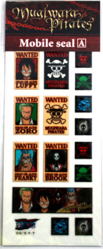 One Piece Wanted Poster Set A Phone Stickers Anime Manga Licensed MINT