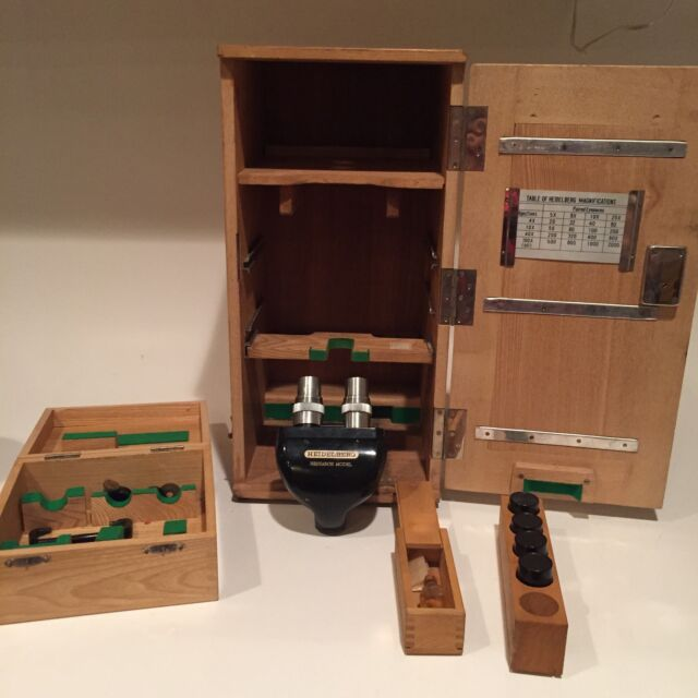 Vintage Heidelberg Research Model Microscope W/Case Fast Shipping Rare wow