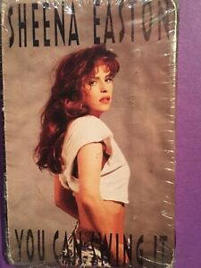 Sheena Easton you can swing it cassette single 1991 brand new sealed unopened